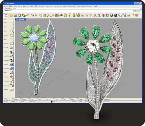 آموزش طراحی طلا و جواهر Jewel CAD